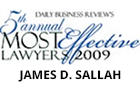 Most Effective Lawyers 2009